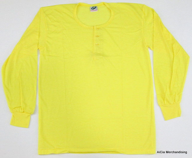 16982b2f33f Camisa De Chino - Long Sleeve Yellow Large