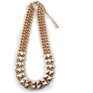 Studded Chain Design Necklace