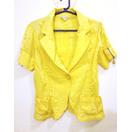 Shiny Yellow Blazer