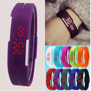 Digital LED Silicon Bracelet Watch