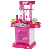 Portable Kitchen Play Set with Light ...