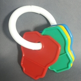 {en: Baby Rattle Keys Design;}