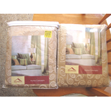 2 Home Concepts Almond Swirl Curtains...