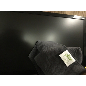 Clean PC and TV monitor with on use only