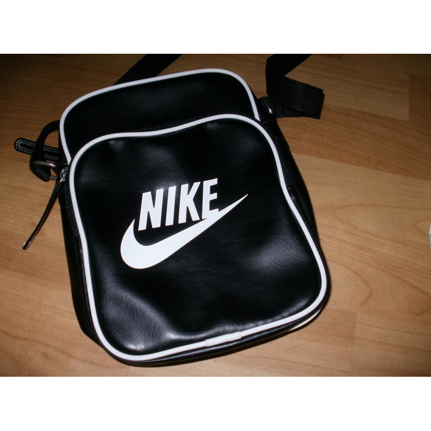 8cd0fd2cd109 Fashion    Bags    Sling bags   Shoulder bags    AUTHENTIC NIKE HERITAGE SLING  BAG BLACK WHITE - Online Internet Shopping Philippines - Hallo Hallo Mall