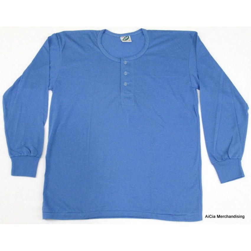 f3f5968d073 Camisa De Chino - Long Sleeve Blue Medium