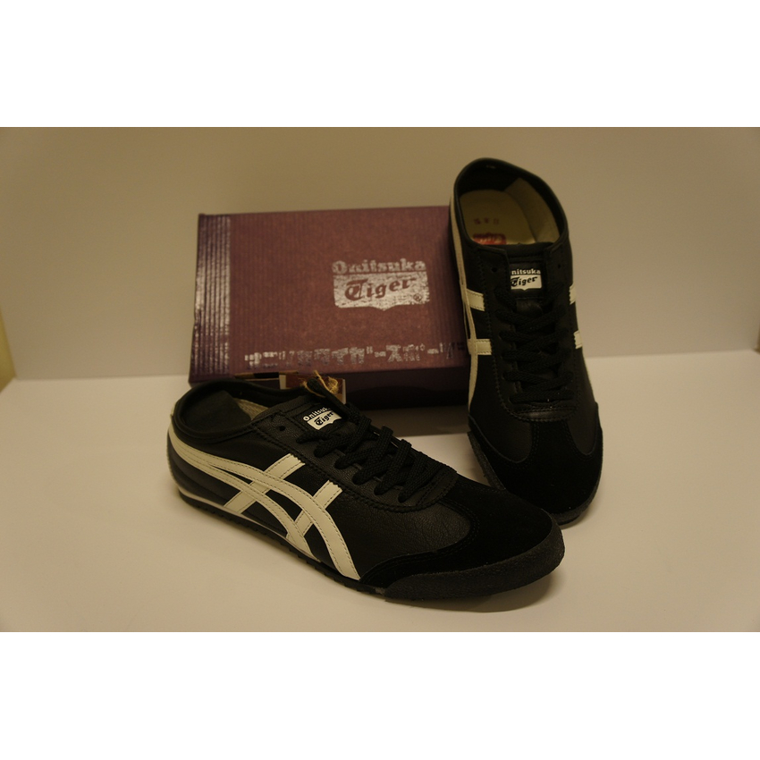 super popular 14568 4f12a Fashion :: Onitsuka Tiger Mexico 66 Deluxe Black/White ...