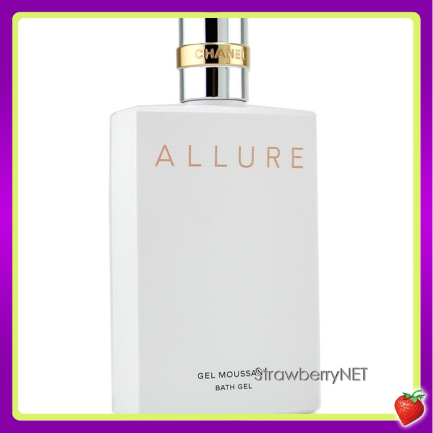 77460b4aa55 Chanel Allure Bath Gel 112960 200ml 6.7oz