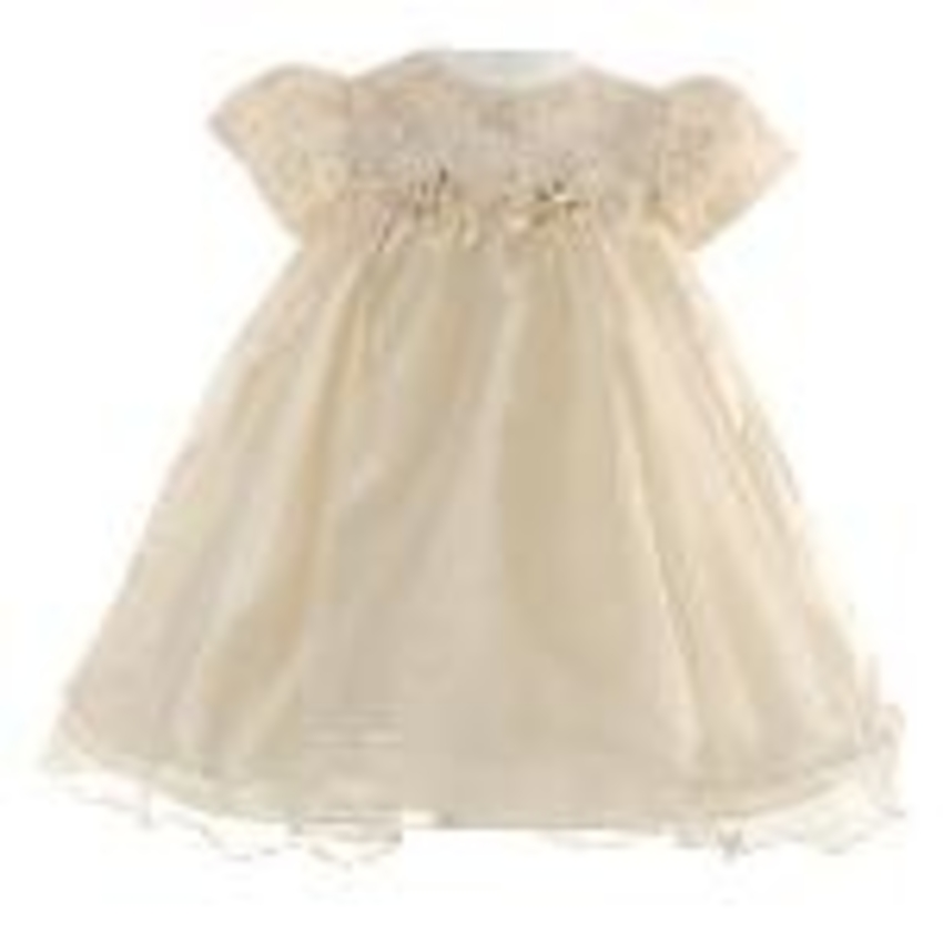 c3fa7cf9945c RARE EDITIONS CHAMPAGNE CHRISTMAS Special Occasion Dress