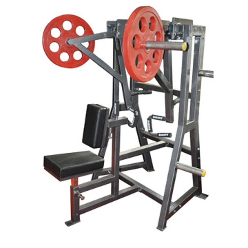 Iso High Row Leverage Plate Load Machine