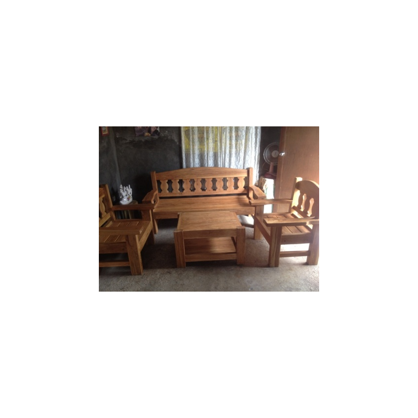 Home Living Furniture Tables Narra Sala Set With Center Table 005 Online Internet